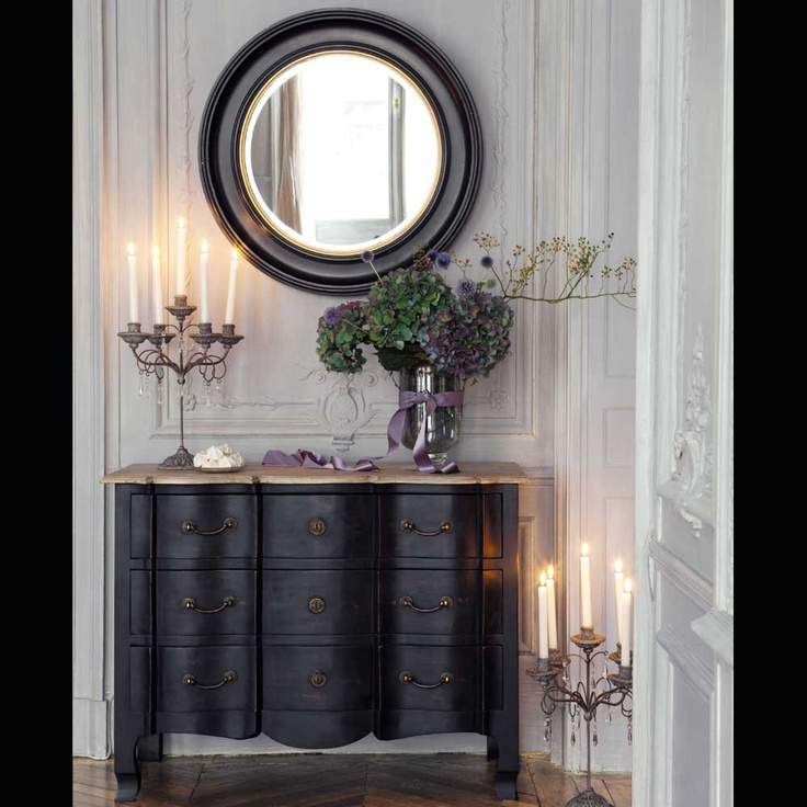 miroir baroque maison du monde amazing table console en pin blanc l cm newport with miroir. Black Bedroom Furniture Sets. Home Design Ideas