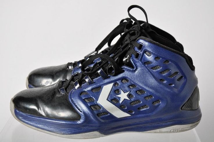Converse Def Con CBT Blue Lace Up Basketball Shoes Size 9 #Converse #BasketballShoes