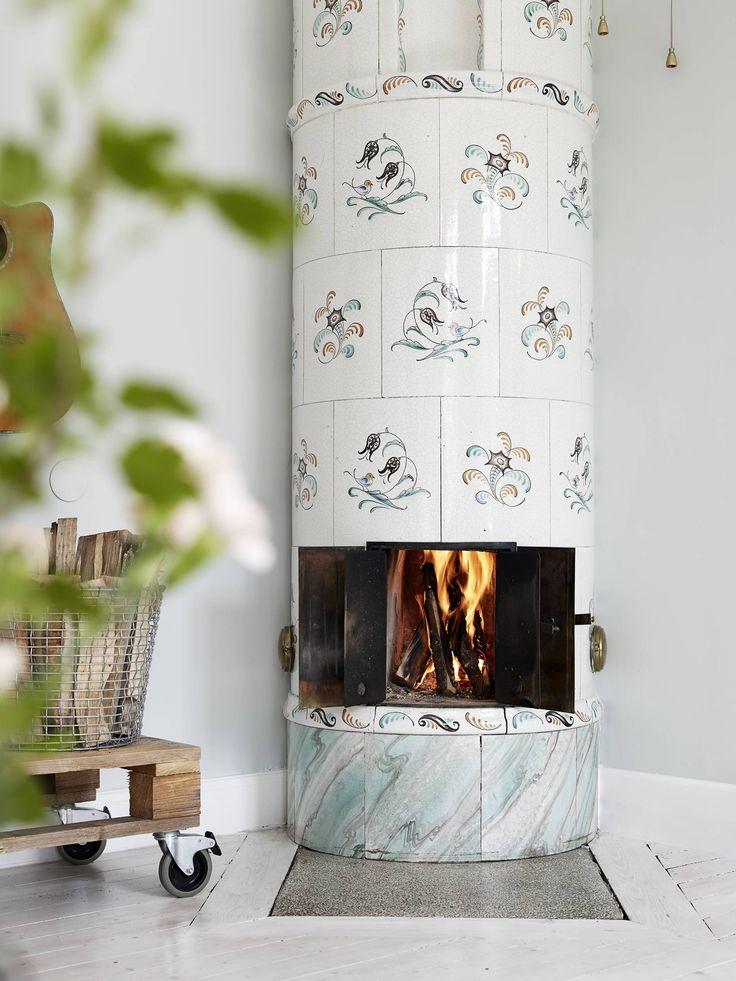piso pequeño decoración inspiración nórdica estilo escandinavo decoración textiles decoración estilo nórdico decoración calida decoración acogedora confortable chimenea en el dormitorio blog decoracion interiores