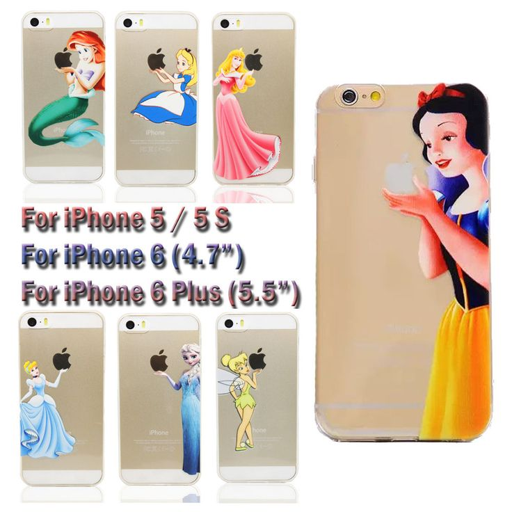 ... Case For iPhone 5/5S/6/6 Plus : Disney, Disney princess and Snow