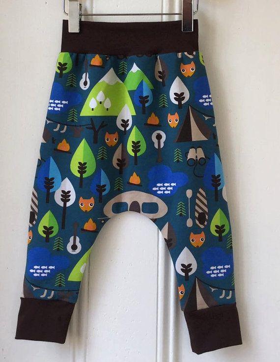 Children's Harem pants children's leggings by BespokeKidsClothing