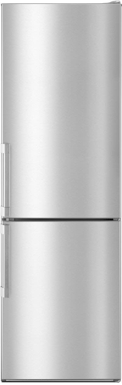 Whirlpool URB551WNGZ 24 Inch Counter Depth Bottom Freezer Refrigerator with Dual Cooling, Removable Wine Rack, Fingerprint Resistant, Frameless Glass Shelves, LED Interior Lighting, Dairy Center, Reversible Swing Doors, Store-N-Serve Storage and ENERGY STAR®