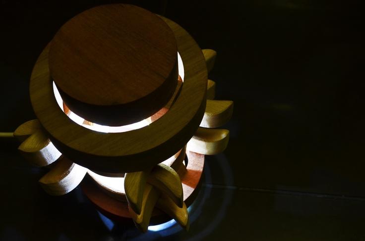 ChinJenga Lamp