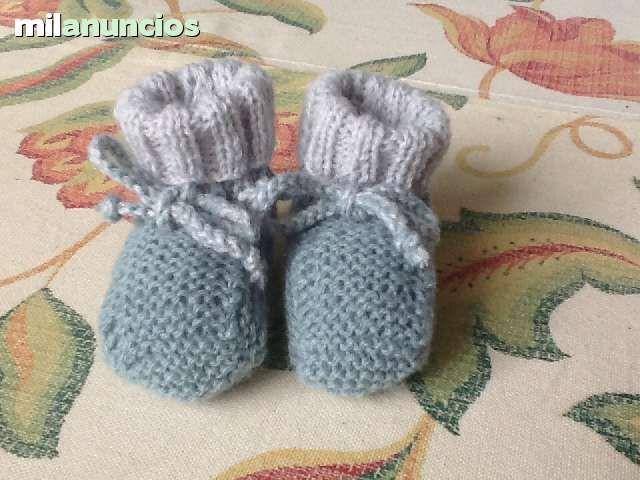 . Botitas beb� hechas a mano. Lanas  primeras marcas