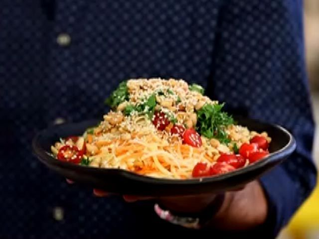 Image result for kunal kapoor chef mango papaya salad