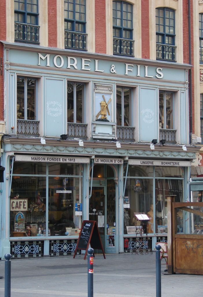 Morel & Fils, 31 place du Théâtre, Lille, France  Find Super Cheap International Flights to Lille, France ✈✈✈ https://thedecisionmoment.com/cheap-flights-to-europe-france-lille/