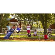 Flexible Flyer Triple Fun II Metal Swing Set $119.00/Walmart