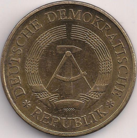 Motivseite: Münze-Europa-Mitteleuropa-Deutsche Demokratische Republik-Deutsche-Mark-0.20-1969-1990