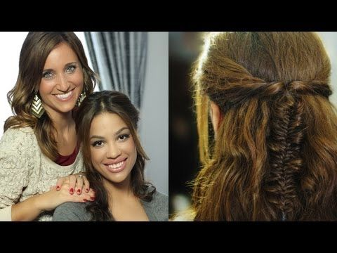 Messy Fishtail Braid Tutorial {5-min}... with YouTube Celeb guest AndreasChoice!