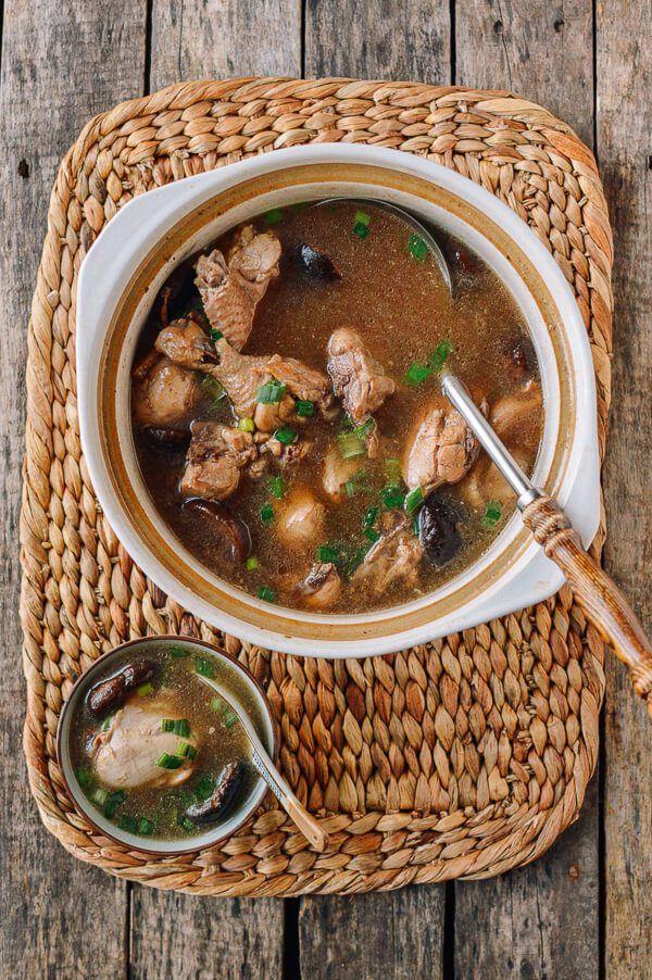 Chinese Chicken Mushroom Soup Recipe Mushroom soup