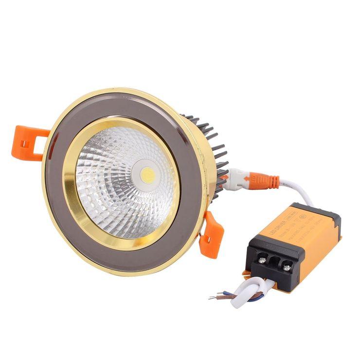 AC85-240V 12W 6000K 36 Degree LED Downlight Spotlight Recessed Lighting Fixture