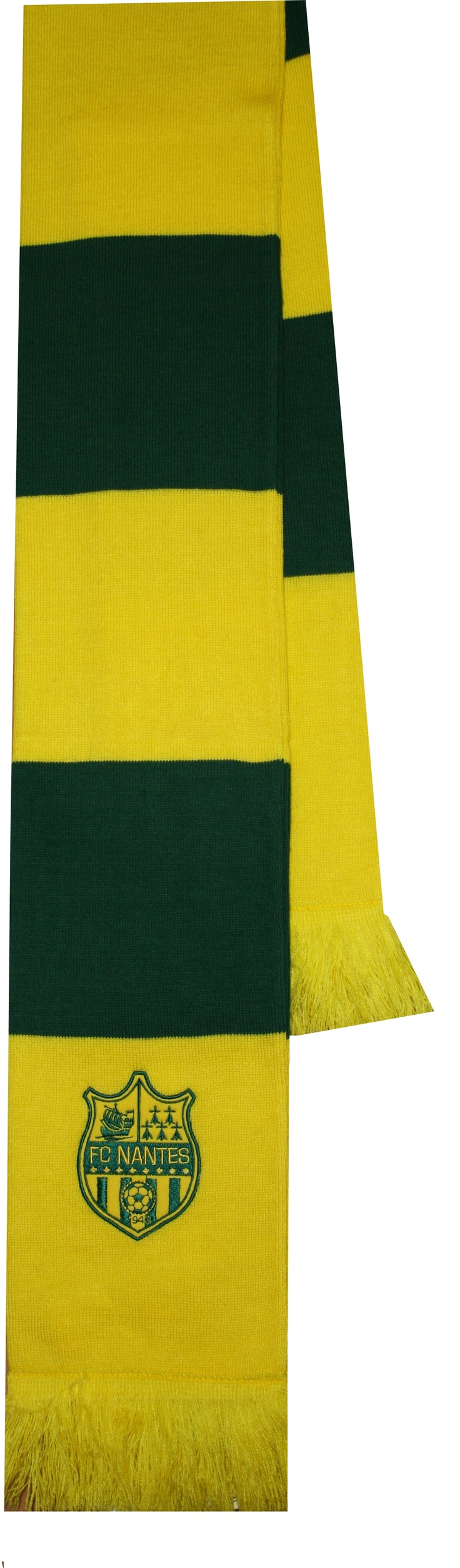 Sampiyon Sport / Acrylic Knitted FC NANTES embroidered Scarf