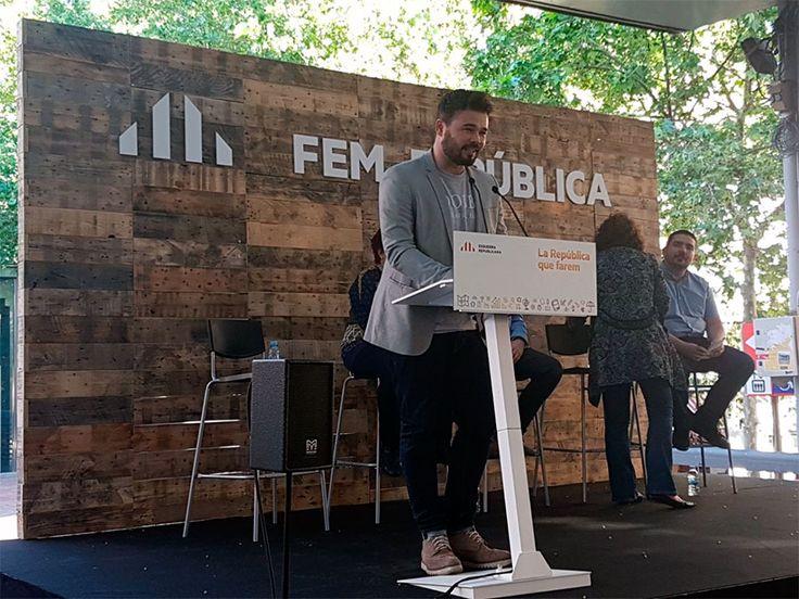 Gabriel Rufián: Yo casi me politicé a través de la música