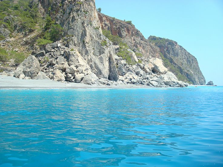 South coastline, Crete