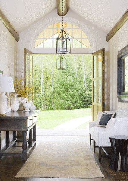 Large Open Foyer : Best images about double french door ideas on pinterest