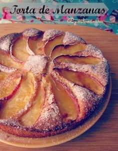 Tarta de Manzana casera Sin gluten y Sin Lactosa