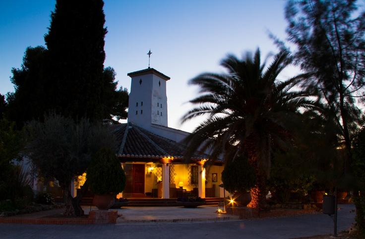 Hotel La Salve - Torrijos (Toledo) - al anochecer