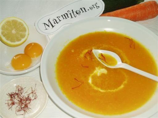 Soupe au citron à la Grecque avgolemono