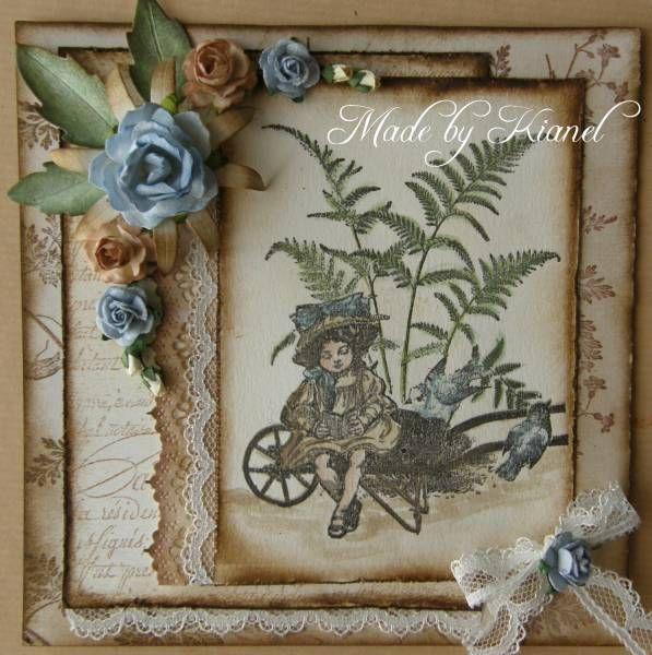 vintage card - kianel