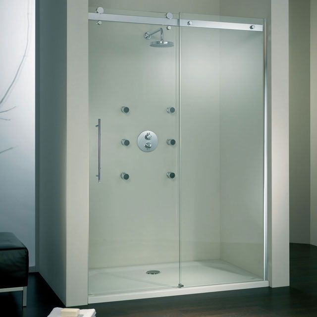 17 best ideas about porte de douche coulissante on - Porte coulissante galandage castorama ...