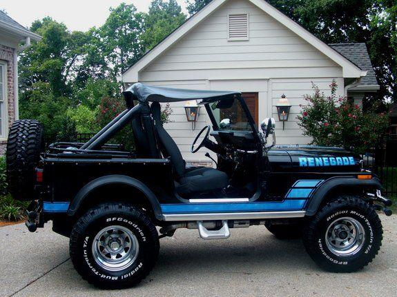 1984 Jeep CJ7 Renegade - Jeep CJ7