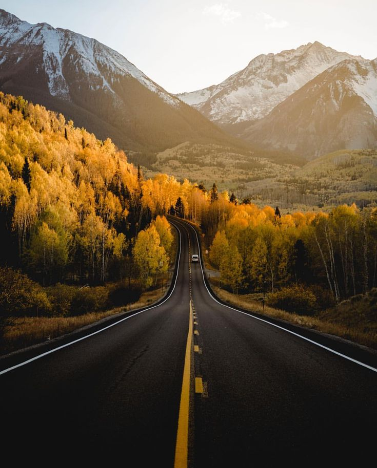 Autumn in Telluride, Colorado, by @j.scud via @upknorth