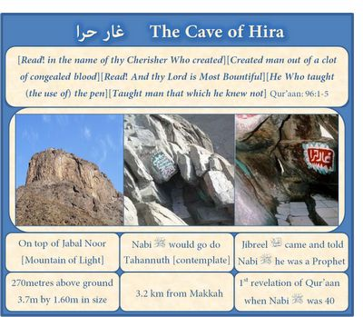 Cave of Hira - First Revelation