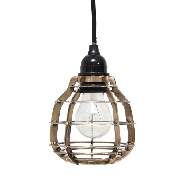 lab lamp brass
