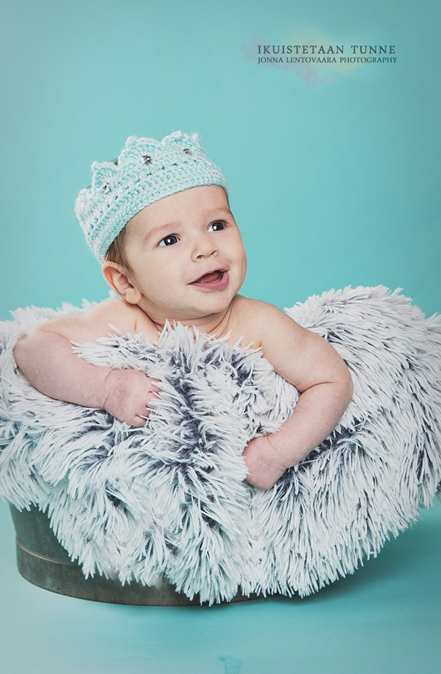 Prinssi ♥ #vauvakuvaus #3months #studiokuvaus #lapsikuvaus #babyboy