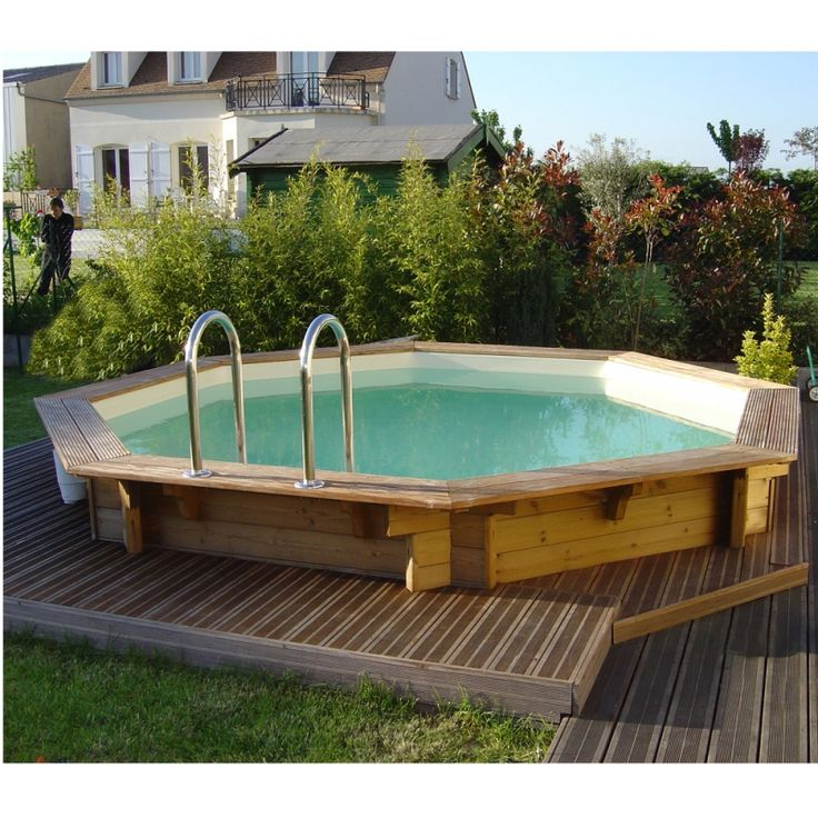 Ocea'Pool Ronde - Piscina fuori terra in legno - Img 5
