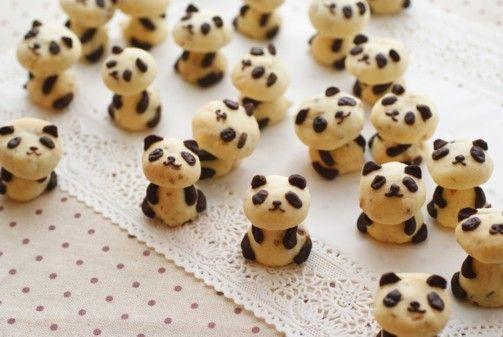 Panda cookies!! :D