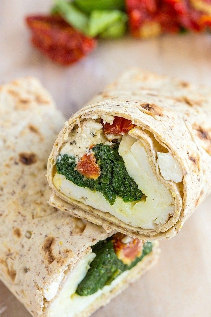 Copycat Starbucks Spinach and Feta Wrap- Healthier and more delicious than the inspiration! @thebigmansworld - thebigmansworld.com