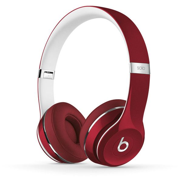 Beats Solo2 On-Ear Lightweight Headphones | Beats by Dre ($200) ❤ liked on Polyvore featuring accessories, tech accessories, electronics, headphones, tech, beats by dr. dre and beats by dr dre headphones