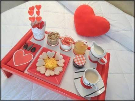 Resultado de imagen para desayuno sorpresa romantico