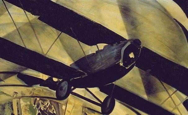 """Tato (Guglielmo Sansoni), """"Flying over the Coliseum in a Spiral"""" - 1930"""