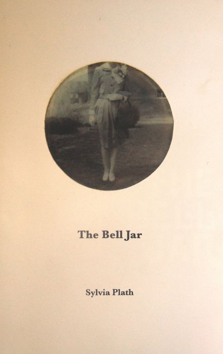 The Bell Jar by Sylvia Plath. Posted in loving memory of Alison Grint (nee Gilbert), 1968-2015. The Bell Jar was a favourite book of hers. Look at the circle, old feature of films when it ends and the circle encases a person, narrows down onto them. like in tom and jerry. claustrophobia