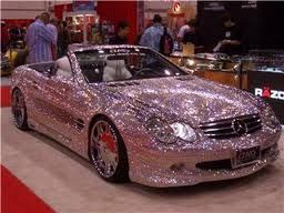pink sparkly= my dream car :))
