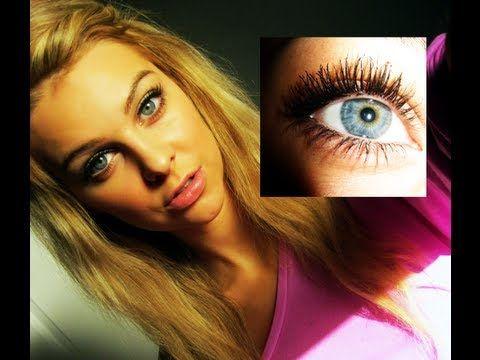 BIG eyelashes tutorial ♡ make your lashes look like fake lashes !