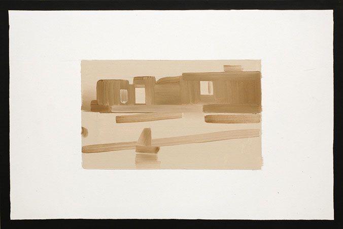 Rafal Bujnowski - Framed Painting (Whistler), 2002-2003