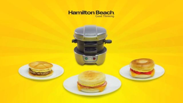 Don't skip the most important meal of the day! #BackToSchool breakfast in a hurry!   Hamilton Beach Breakfast Sandwich Maker