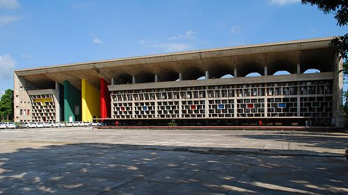 Le Corbusier; High Court, Chandigarh, India, 1952