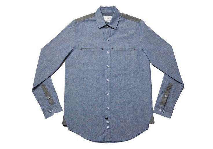 Stylish Kollar Cliff Shirt great for the winter months.