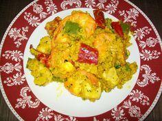 Paella di quinoa