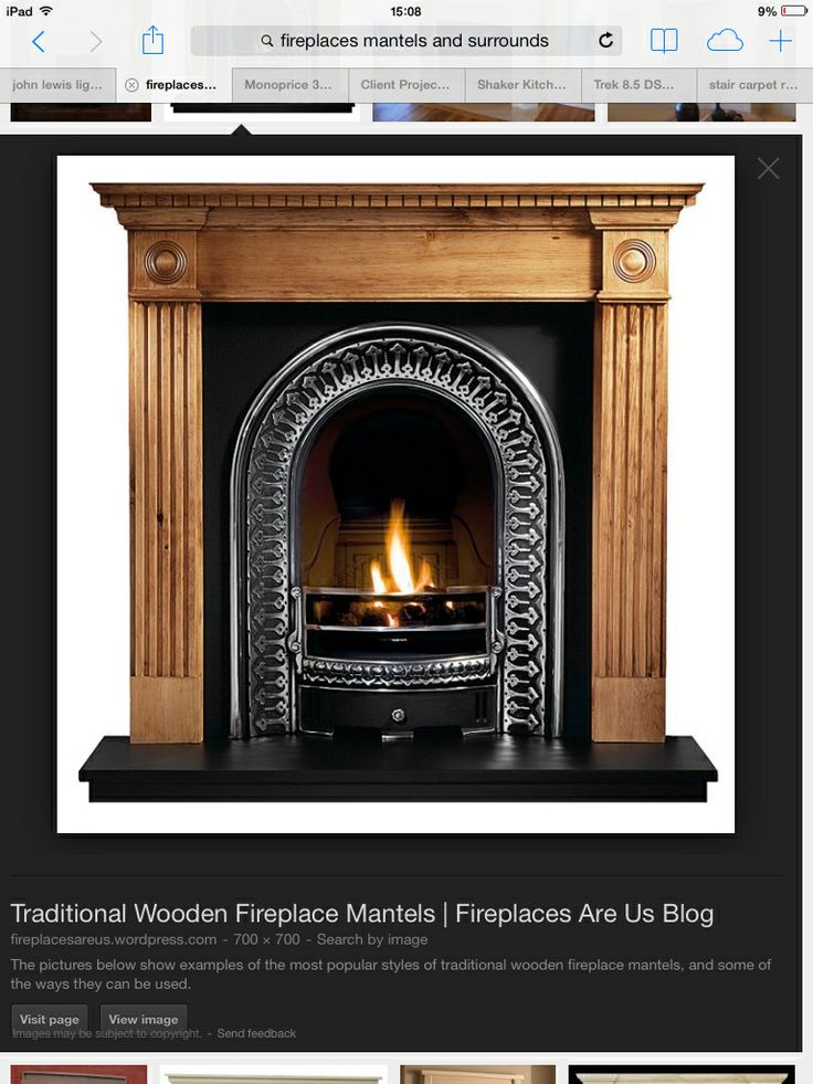 Fireplace for lounge