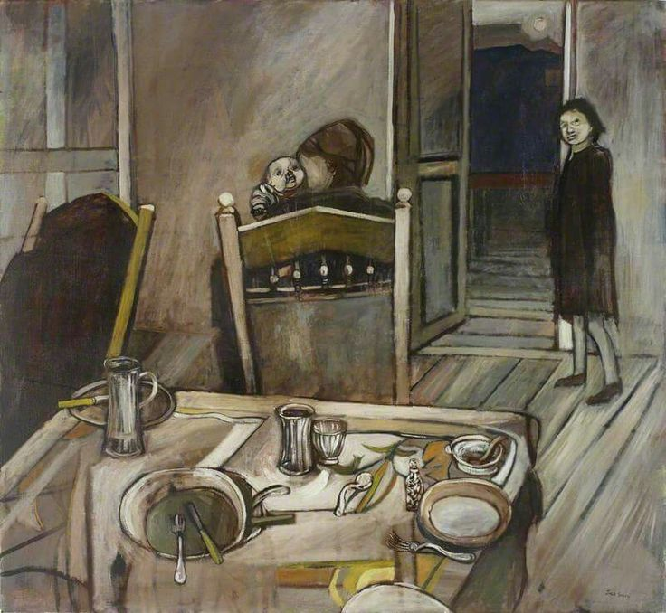 Jack Smith (1928–2011) After the Meal, 1952