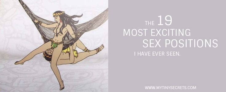 The 19 Most Exciting Sex Positions I Have Ever Seen: How Mayan's Had Sacred Sex in a Hammock