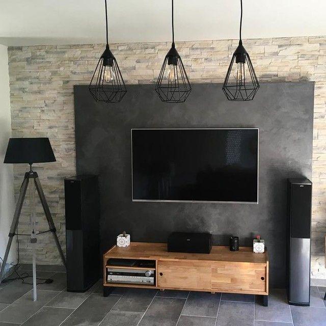 Banc Tv Chene Massif Aboute Et Acier Hiba Banc Tv Idees Pour La Maison Meuble Tv