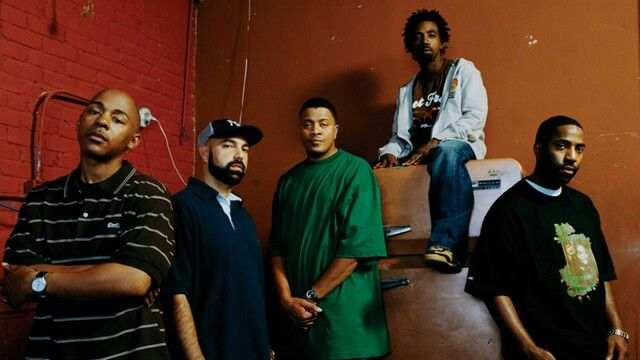 #JURASSIC5TOUR  It seems the reunion's working out for hip-hop group Jurassic 5, as they've just announced they'll be touring the UK again later this year.   The rappers disbanded in 2007, but reunited in 2013 with last year bringing a sell-out tour, new material and a Glastonbury performance.   Jurassic 5's next UK tour will kick off in #Manchester on the 7th of Septembe, 2015.   (Notes: Jurassic 5 will play Manchester Albert Hall on 7th September, #Birmingham Institute on 8th September…