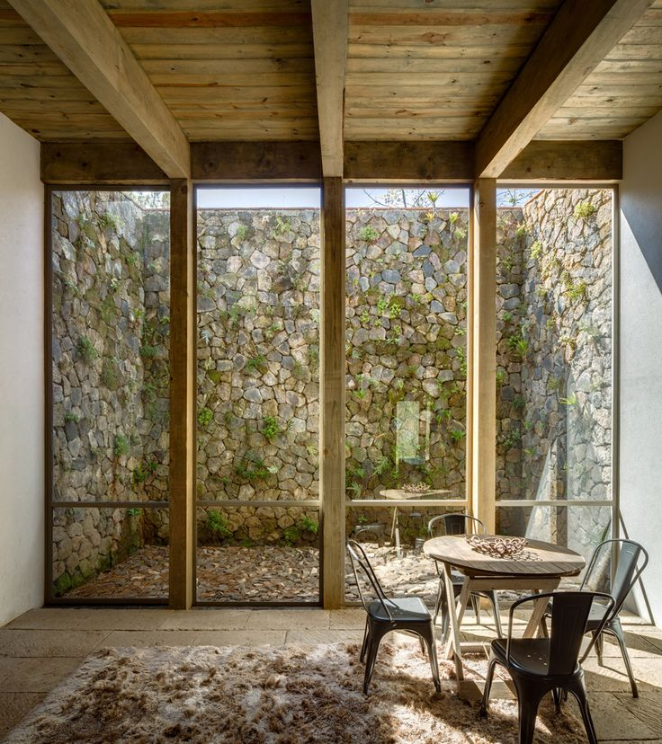 CC Arquitectos builds timber-framed Santana House in Mexican woodland | Dezeen » Architecture | Bloglovin'