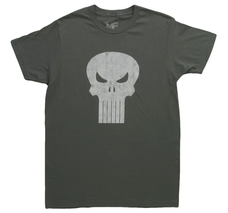 Distressed Punisher T-Shirt